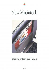 Brochure Apple France New Macintosh 1997
