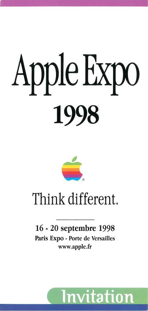 Invitation Apple Expo 1997