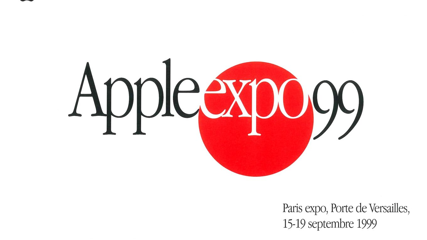 Invitation Apple Expo 1999