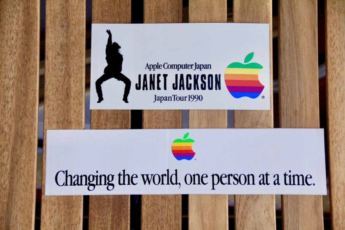 Apple Janet Jackson Bumper Sticker
