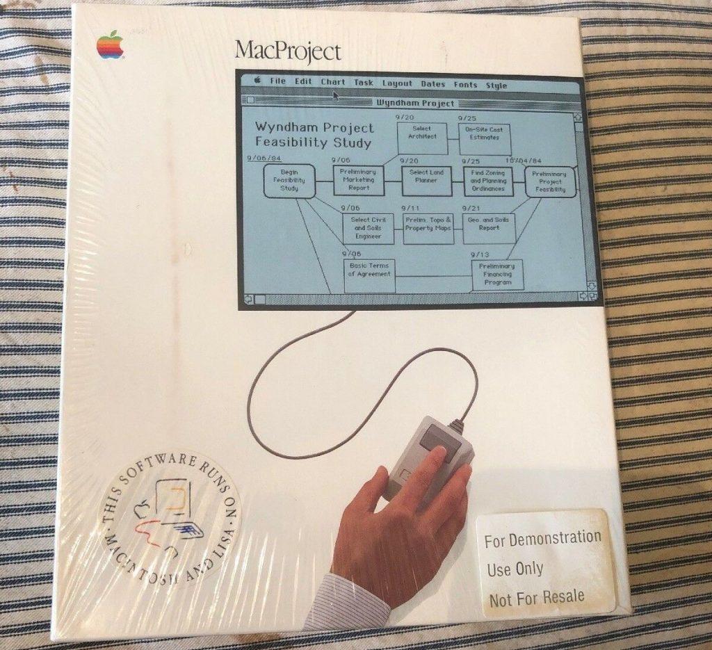 MacProject sealed box