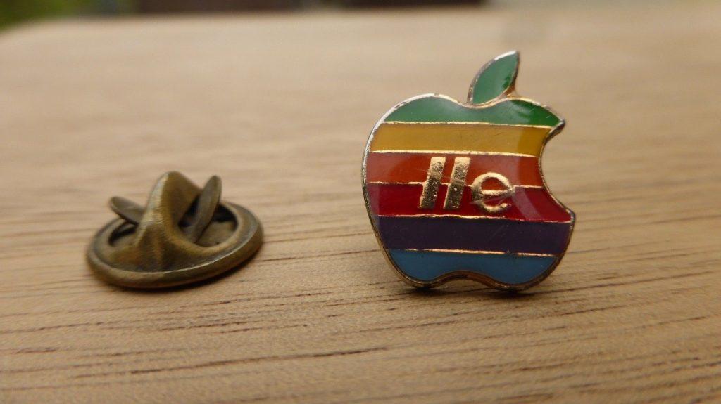 Pin's Apple IIe
