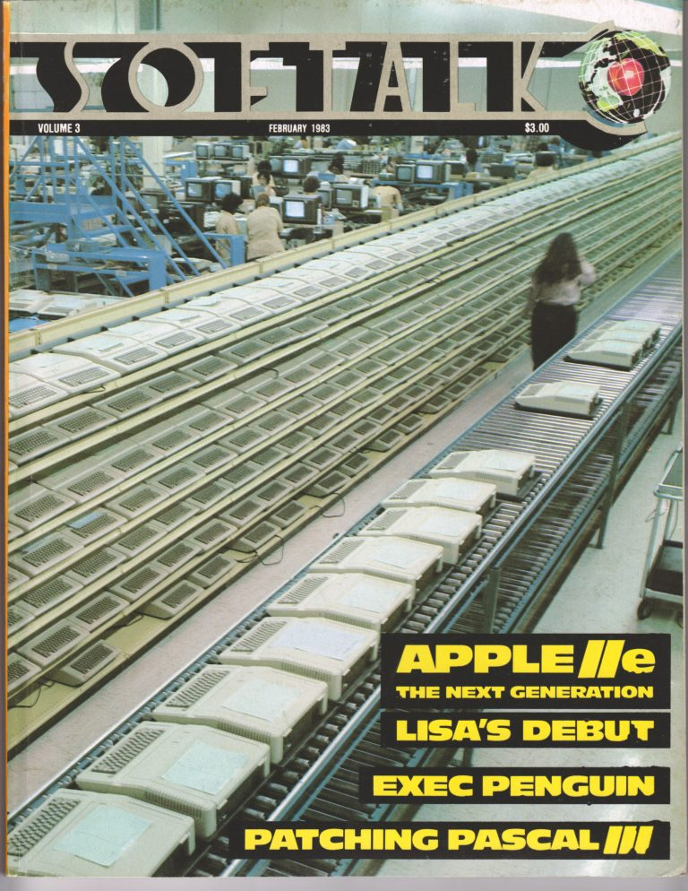 SoftTalk Apple IIe 1983