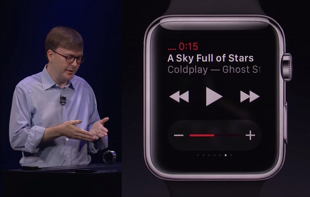 Kevin Lynch Apple Watch Coldplay