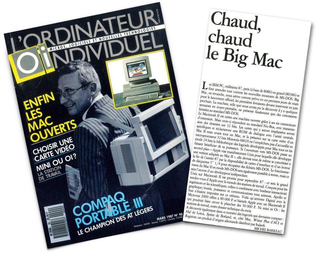 édito Chaud chaud le big mac