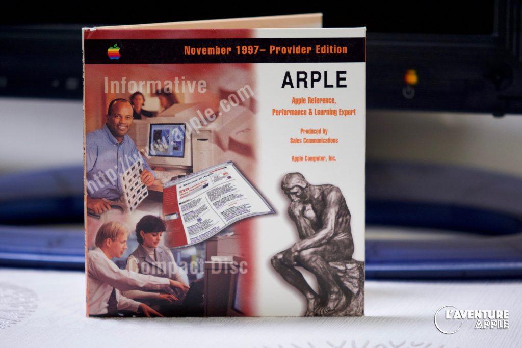 ARPLE Apple CD provider 1997