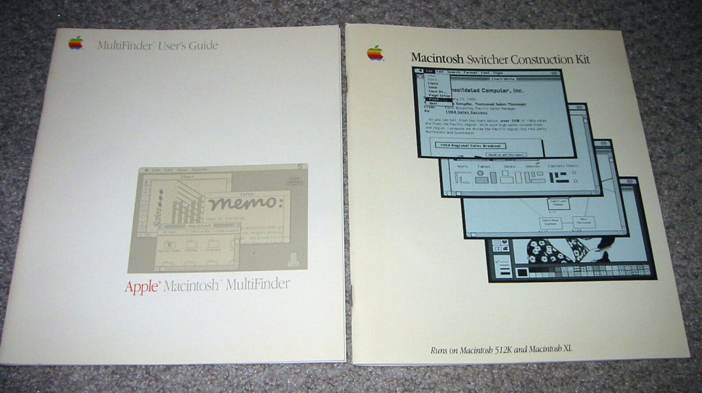 Apple MultiFinder et Switcher