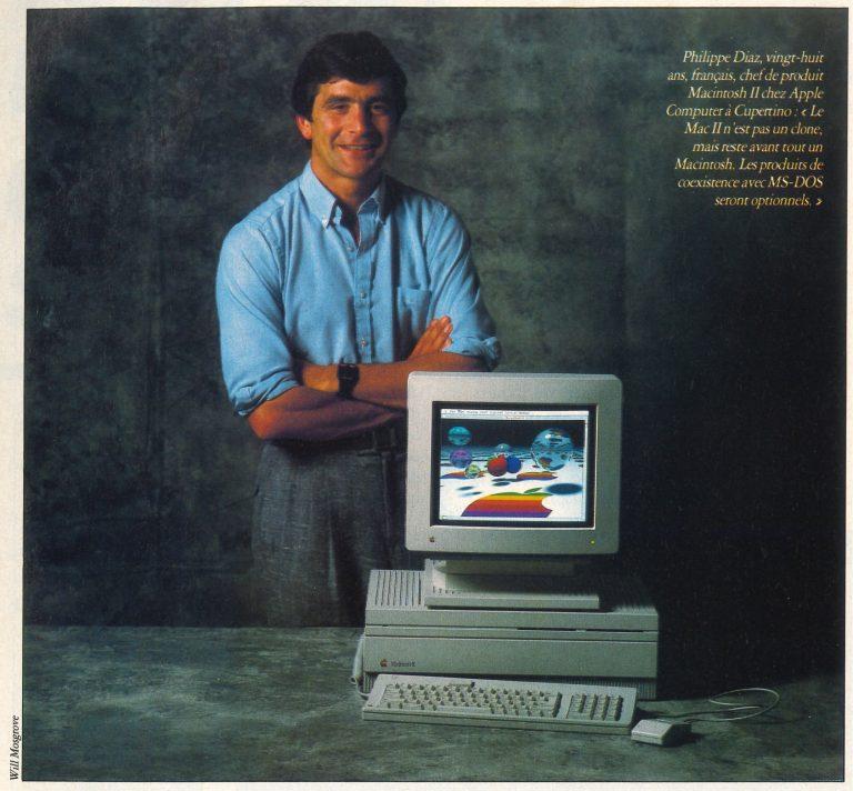 Philippe Diaz, Apple Macintosh