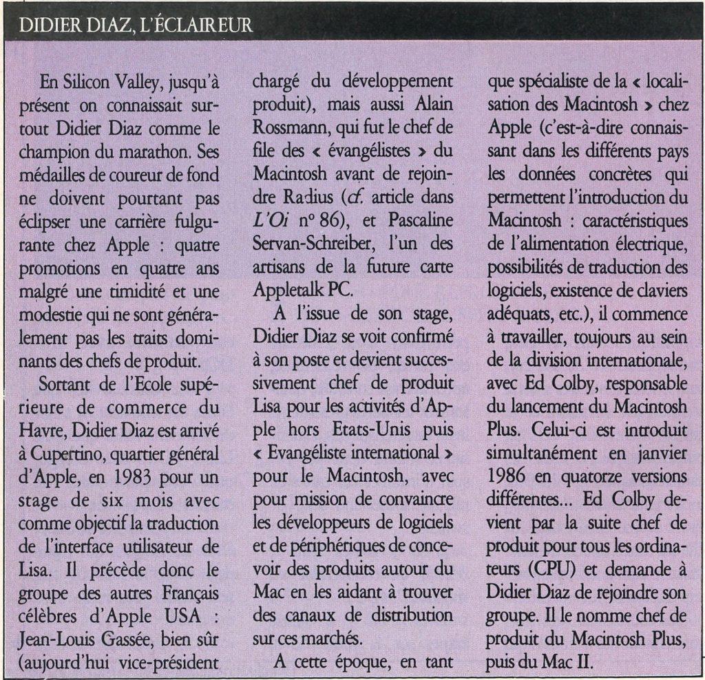 Didier Diaz Apple