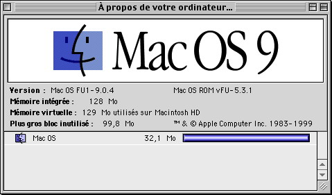 MacOS New World ROM A propos