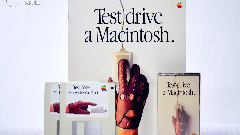 Apple Test Drive a Macintosh, Livret, Cassette, Disquettes