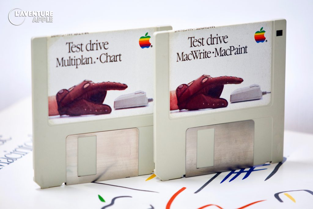 Apple Test Drive a Macintosh, Disquettes