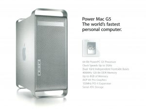 Brochure Power Mac G5 Apple 2003