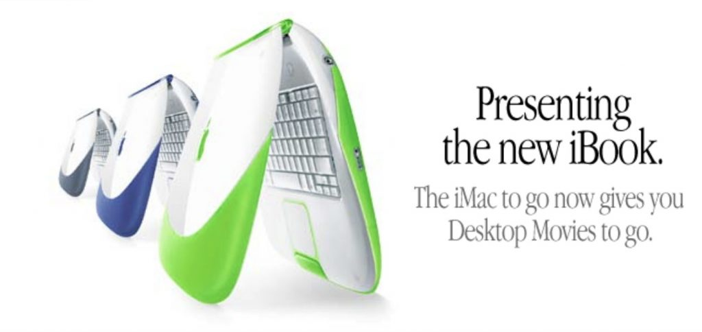 Apple iBook Key lime Apple Website