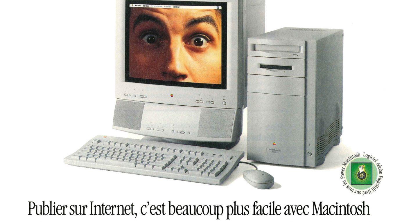 1995 Apple Ad Power Macintosh 8500 Adobe PageMill France