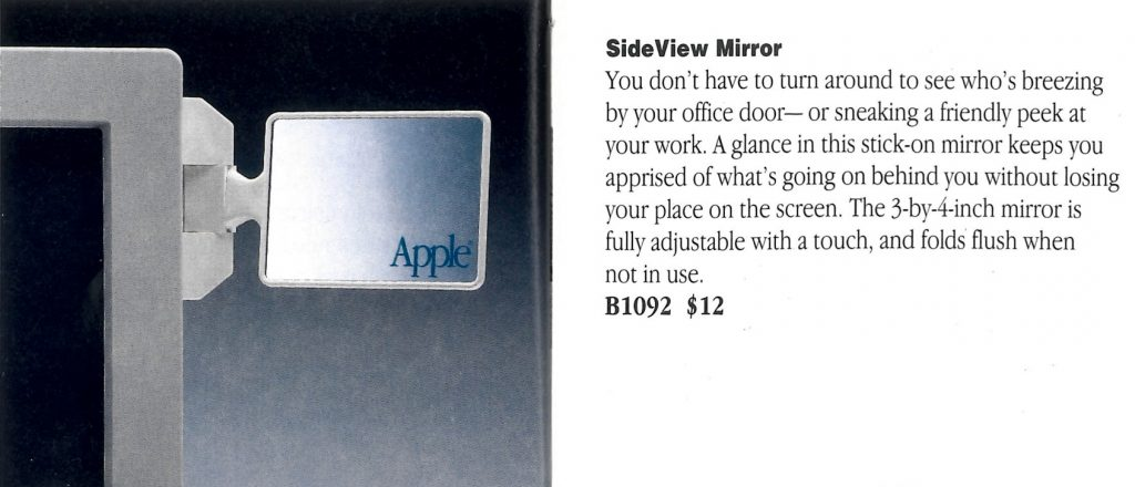 Apple sideview mirror