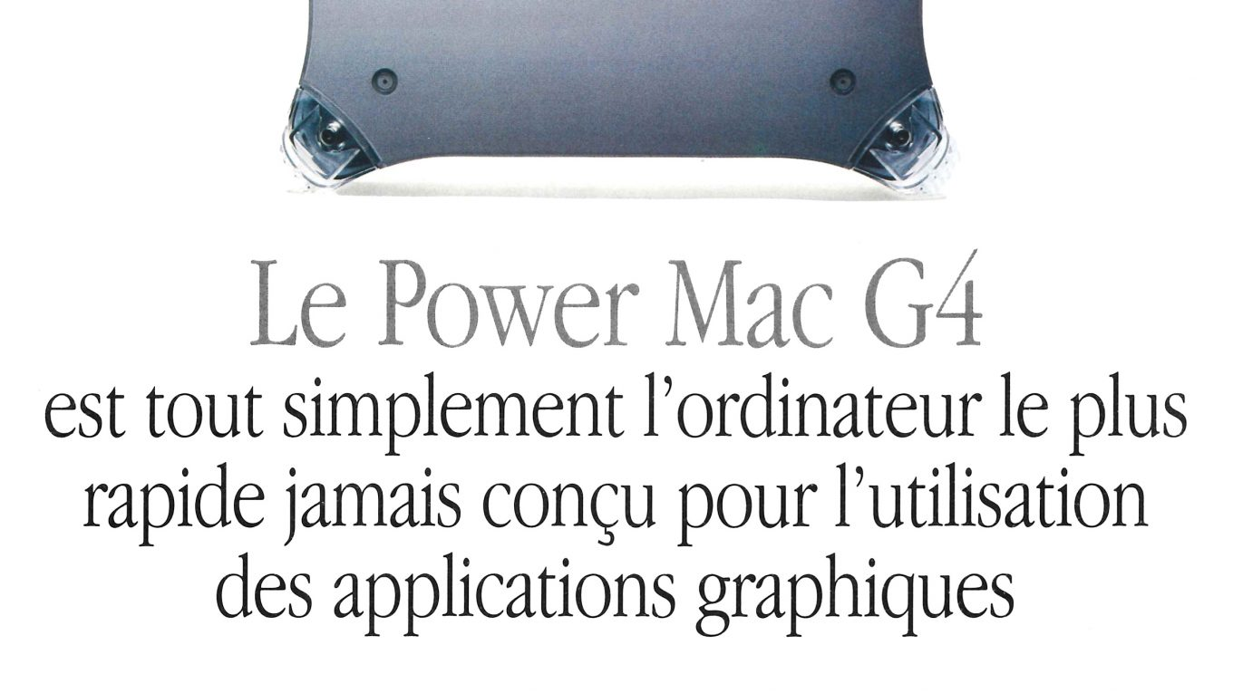 Apple Publicité Power Mac G4