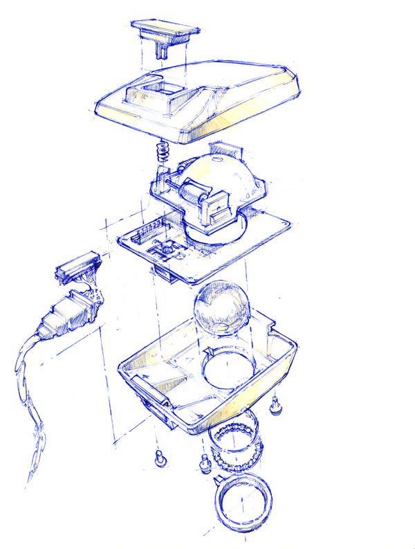 Apple Mouse Hovey-Kelley Design