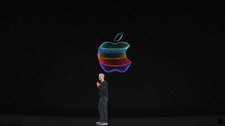 Apple color logo Keynote