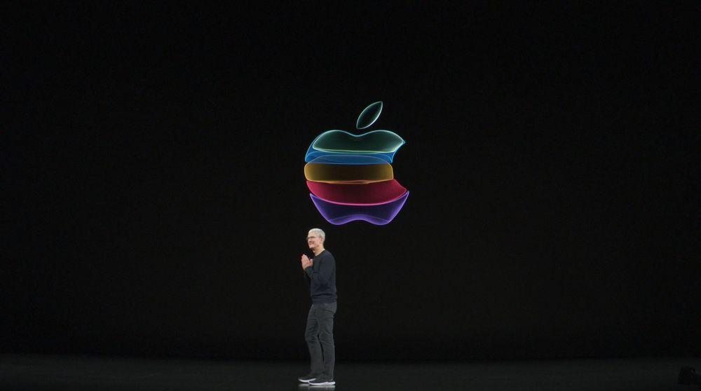Apple color logo Keynote