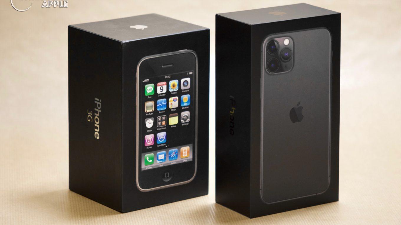 iPhone 11 Pro et iPhone 3G