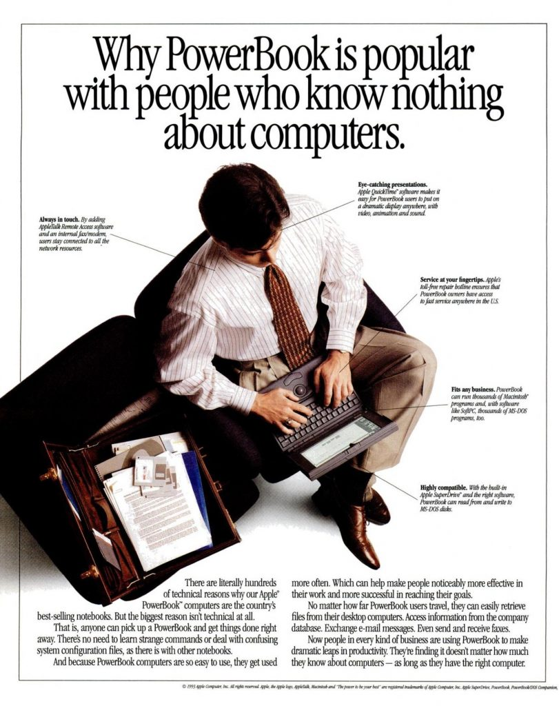 PowerBook popular Ad