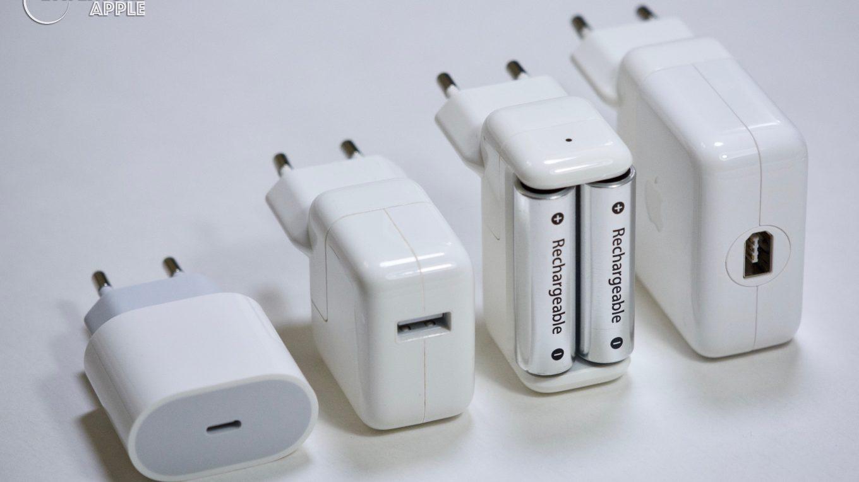 Chargeur de piles AA d'Apple