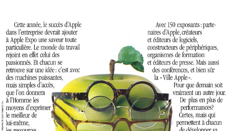 Apple Expo 1988 à La Villette