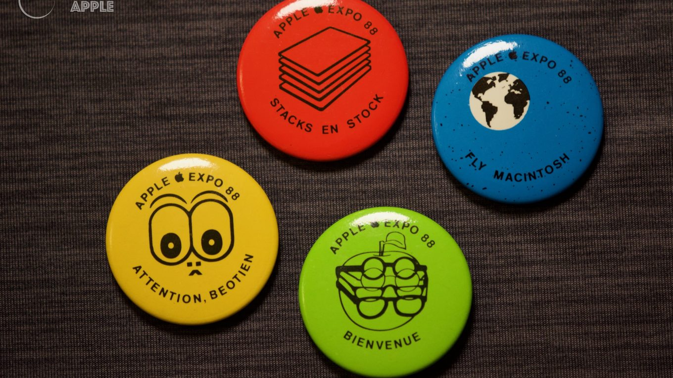 Badges Apple Expo