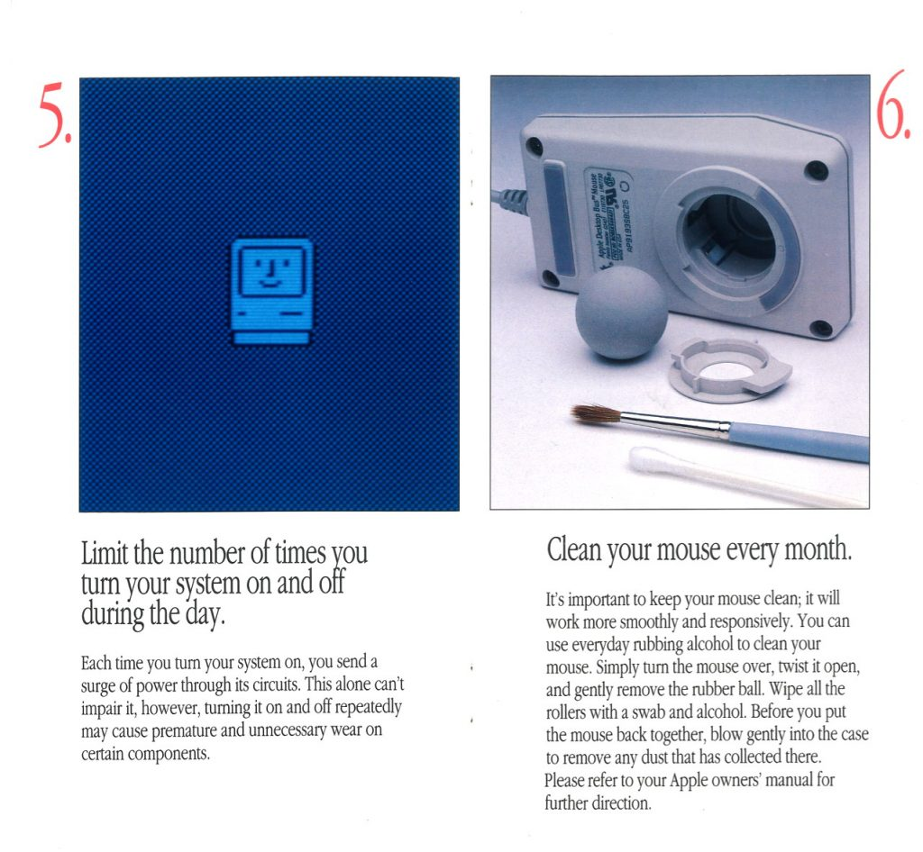 Take care of Apple Macintosh Computer