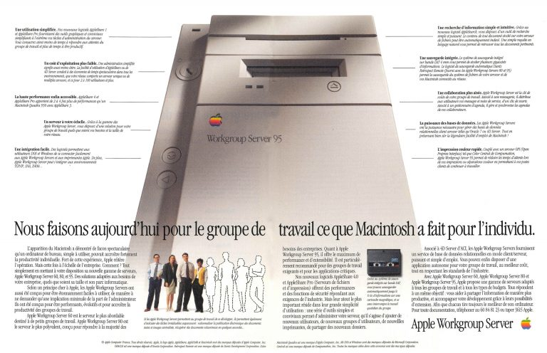Apple Workgroup Server 95