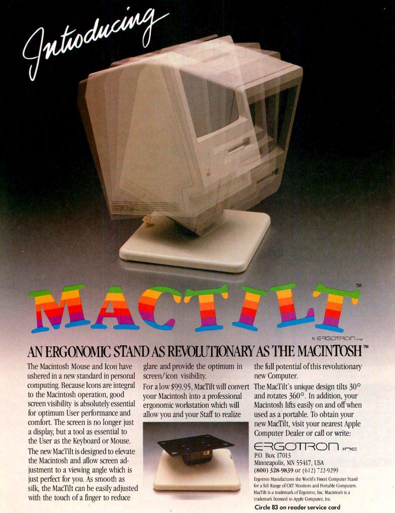 1984 Mac Tilt Ad