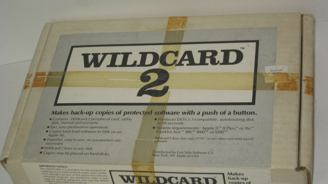 WildCard pour Apple II