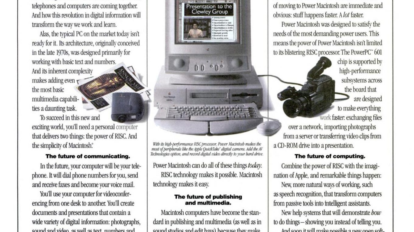 Apple 1994 Ad