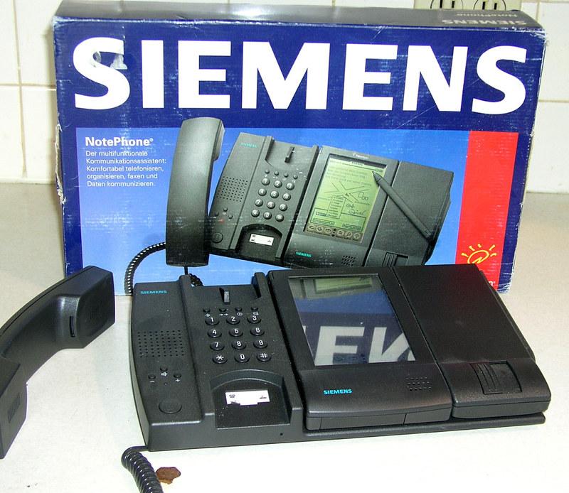 Siemens NotePhone boîte