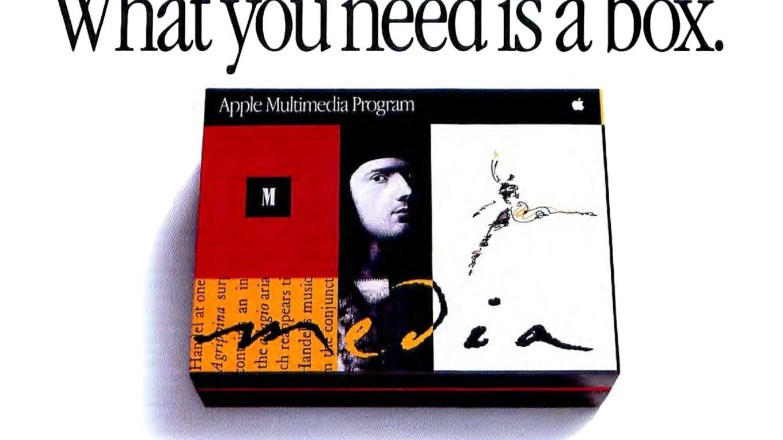 1993 Apple Ad : Apple Multimedia Program