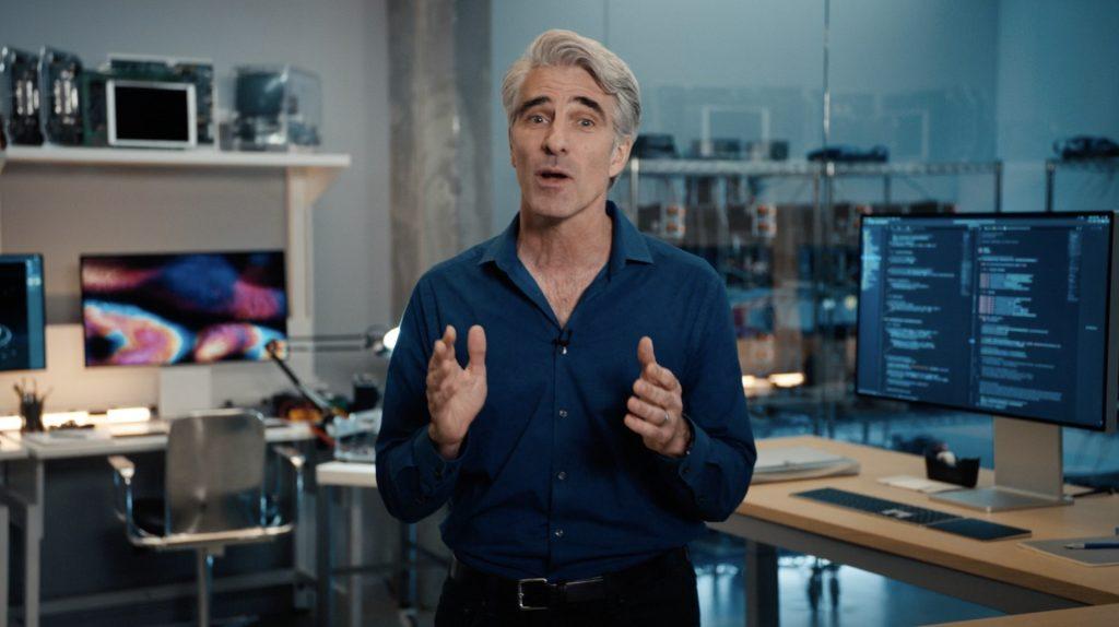 Craig Federighi Macintosh SE prototype 2020