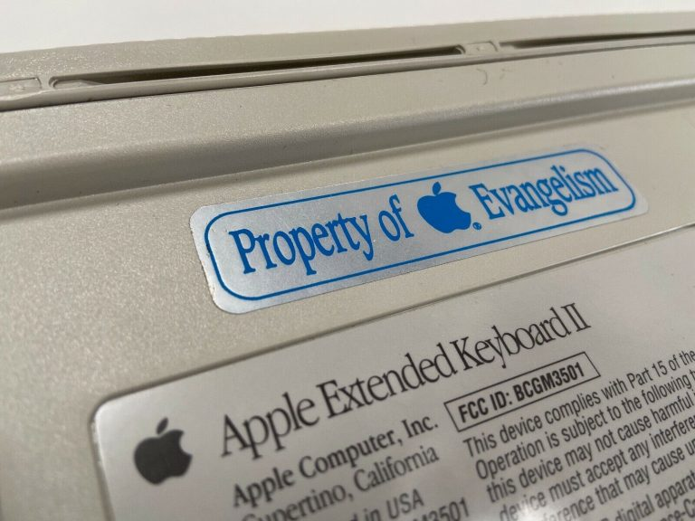 Apple Evangelism Keyboard