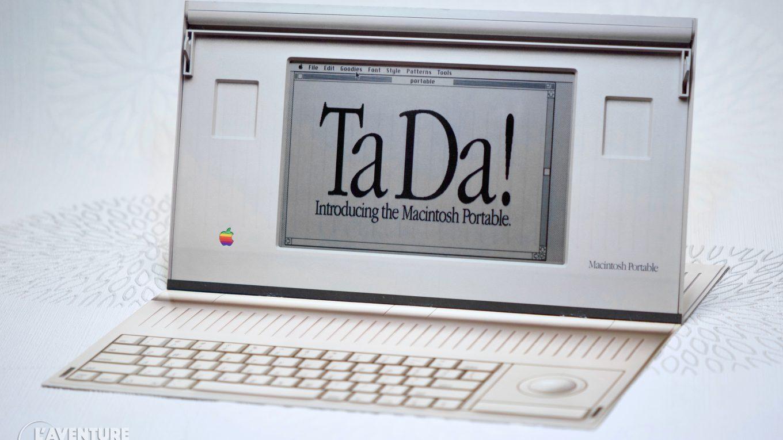 Brochure Macintosh Portable
