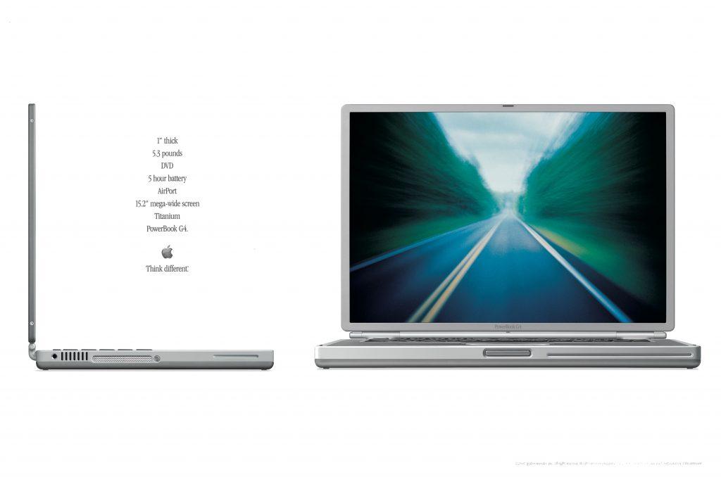 2001 Apple PowerBook G4 ad