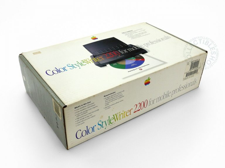 Color StyleWriter 2200 Inkjet Printer