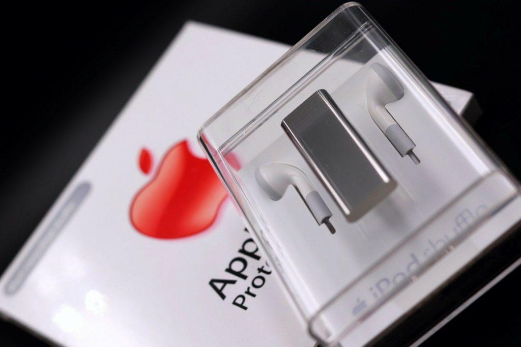 iPod shuffle acier inoxydable