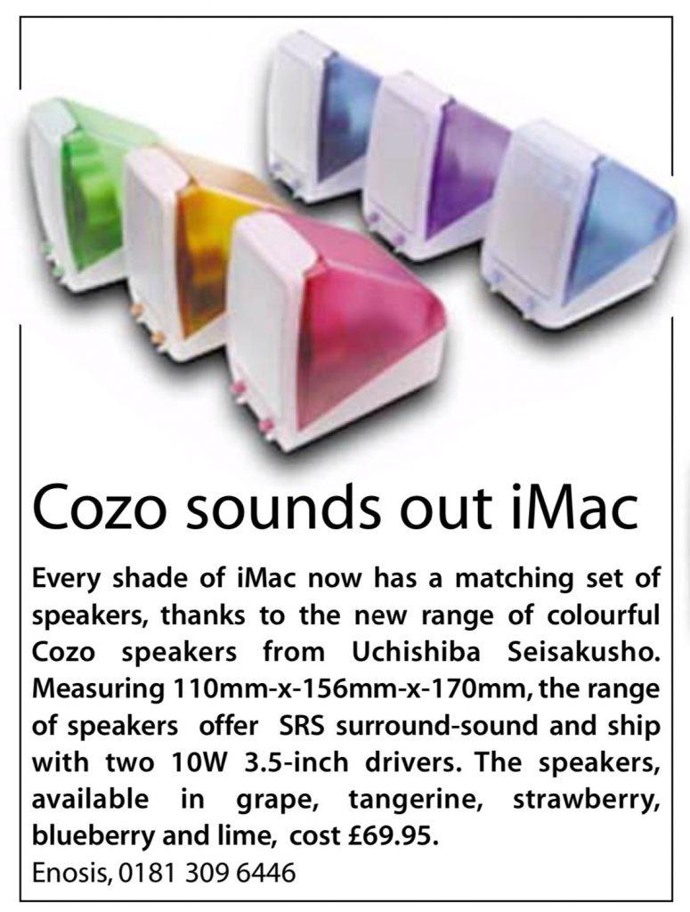 hauts-parleurs iMac
