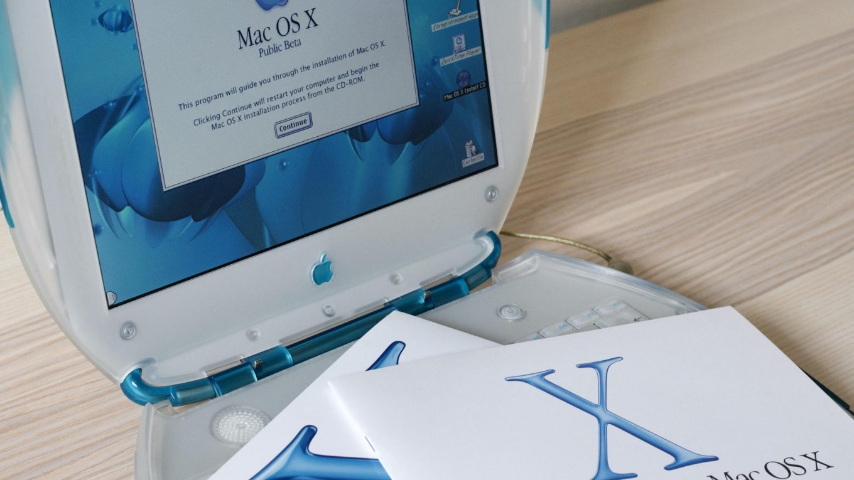 ibook Mac OS X Public Beta