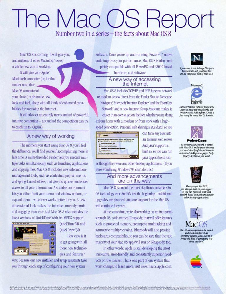 apple 1997 Mac OS Report ad 2