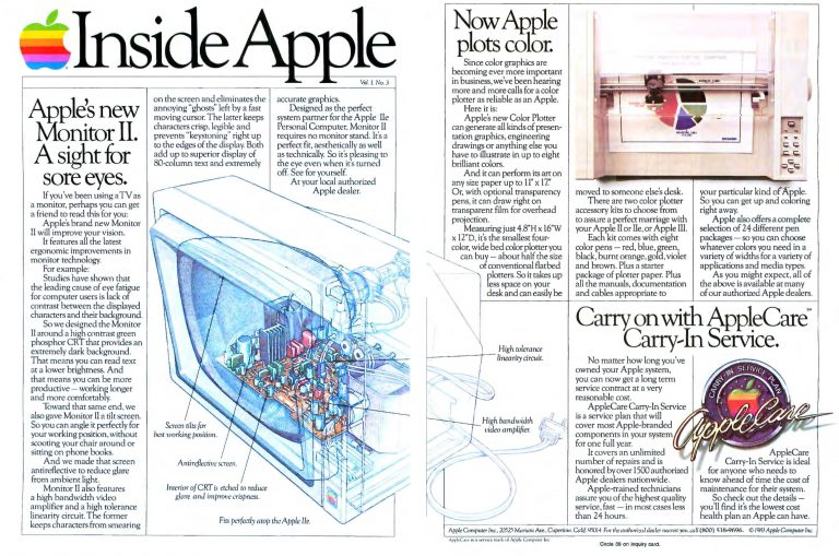 Inside Apple Octobre 1983