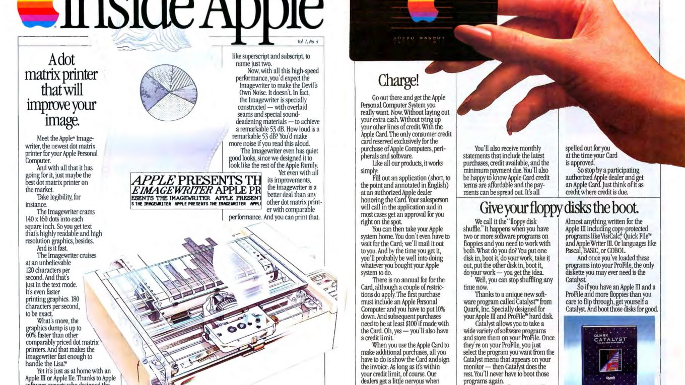 Inside Apple décembre 1983