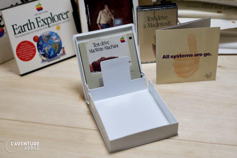 Boite Test Drive a Macintosh Apple 1984