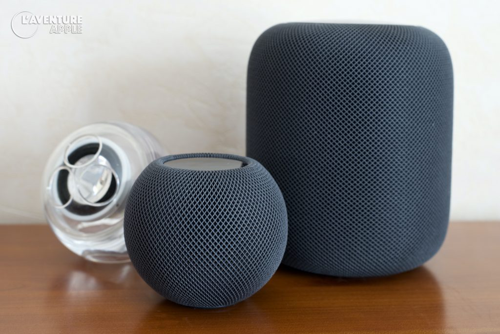 Apple Pro Speakers - HomePod - HomePod mini - noir (black)