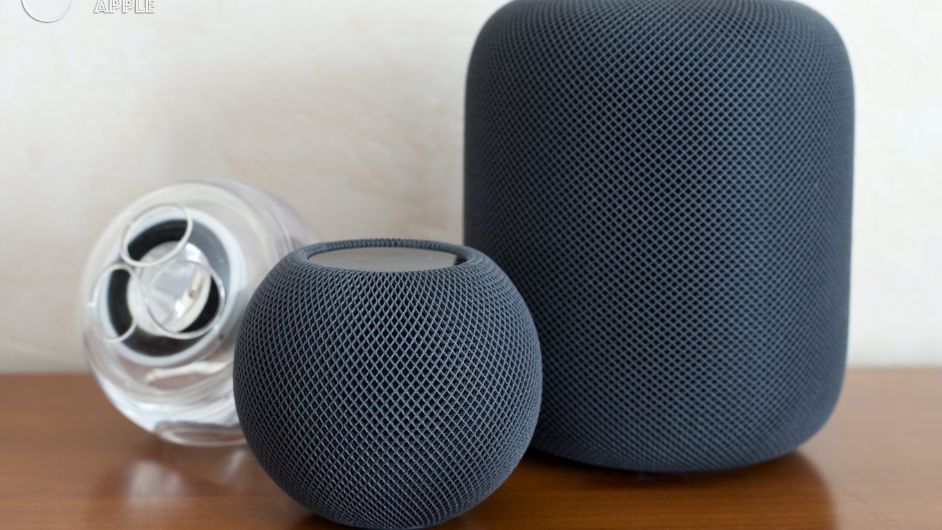 Apple Pro Speakers - HomePod - HomePod mini - noir (black)